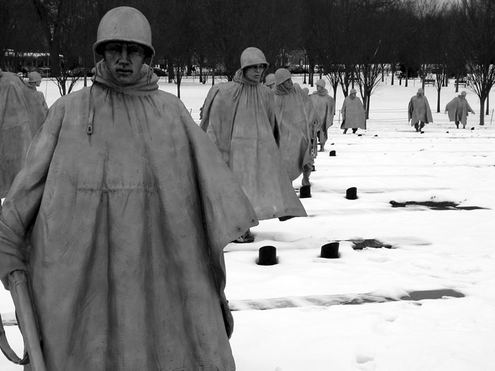 korean war memorial large